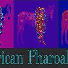Triple Crown Champ American Pharoah Pop Art by Ginny Luttrell