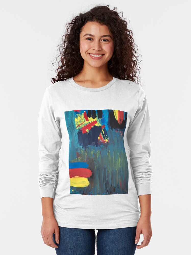 Alternate view of Climbing Trees In the Ocean Long Sleeve T-Shirt