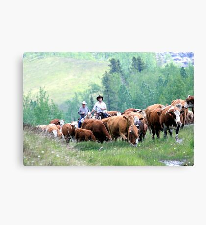 Just Like The Old Days Canvas Print