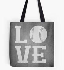 Baseball Love 2 Tote Bag