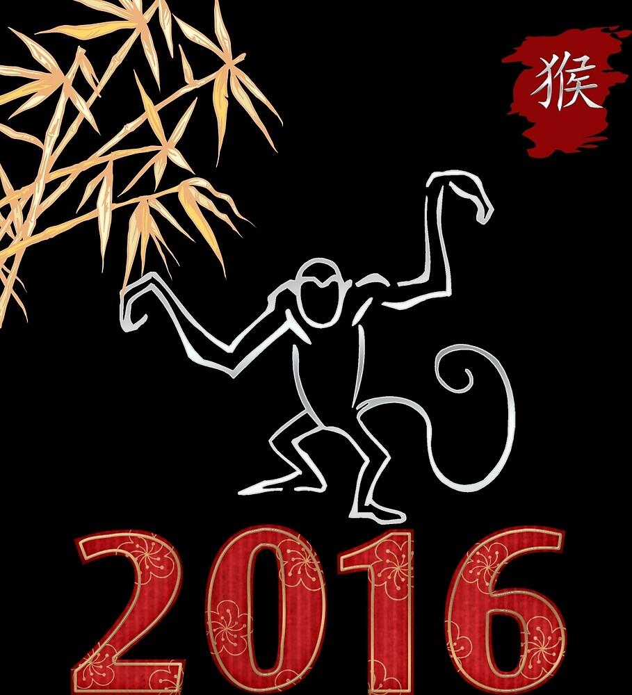 Year of The Monkey  2016 Chinese Zodiac Monkey by ChineseZodiac