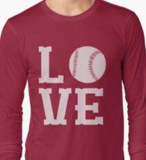 Baseball Love Long Sleeve T-Shirt