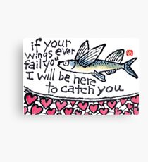 Heart Fish (v.3) Canvas Print