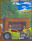 Timing Is Everything-32 Ford hot rod by Michael McKellip