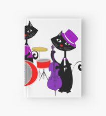 Cool For Cats Music Themed Hardcover Journal