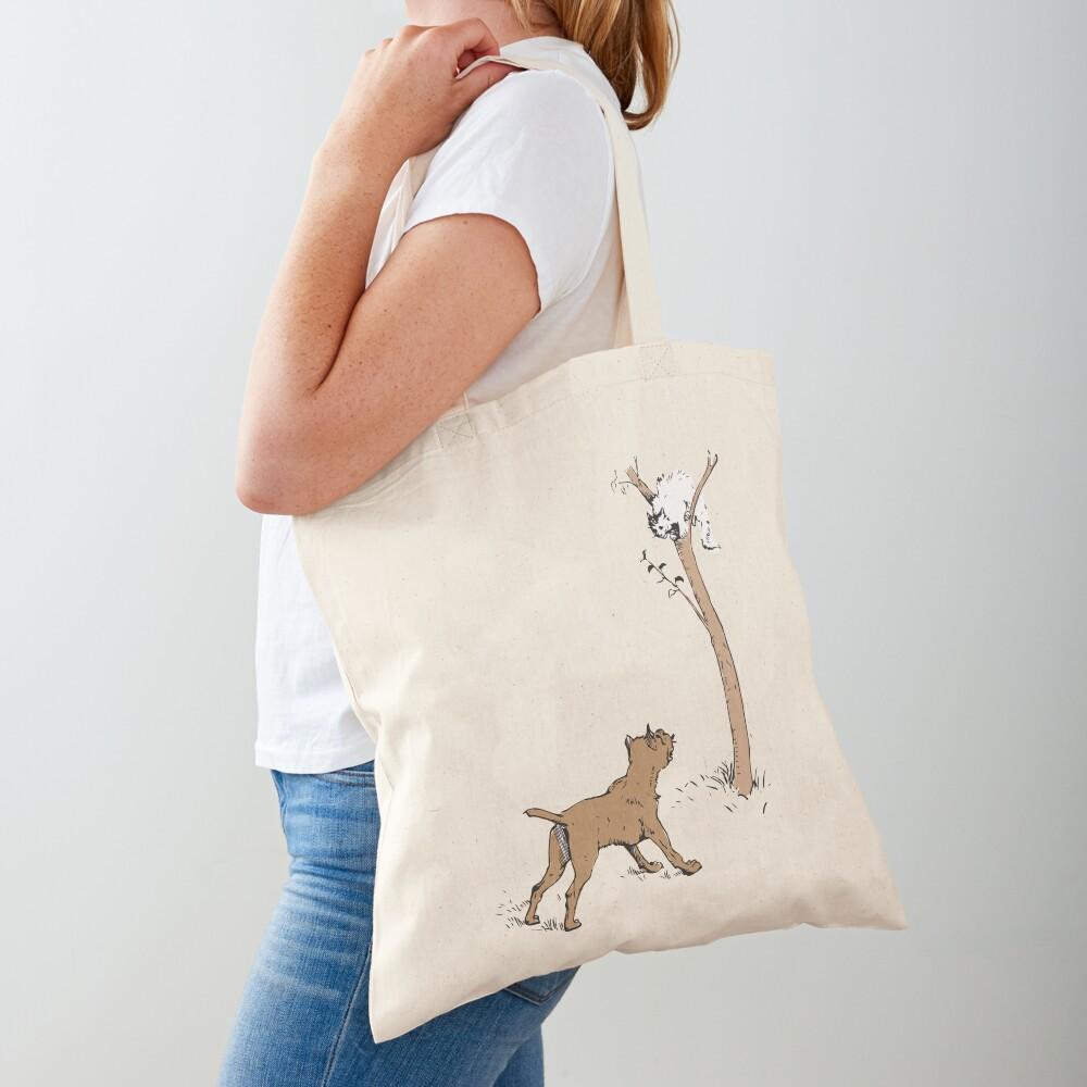 Grinning cat Tote Bag