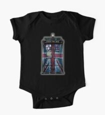 British Union Jack Space And Time traveller One Piece - Short Sleeve