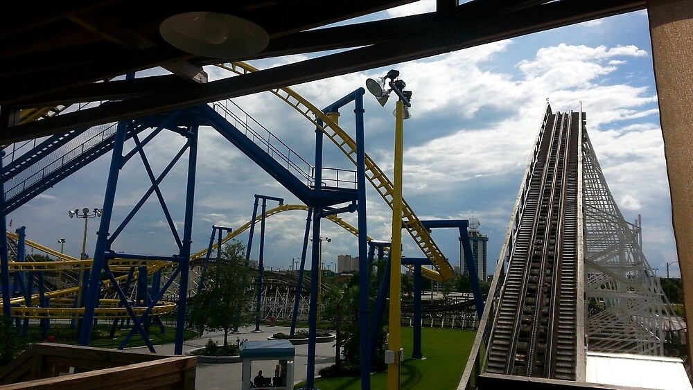 Fun Spot White Lightning And Freedom Flyer by SeikoZoorhess