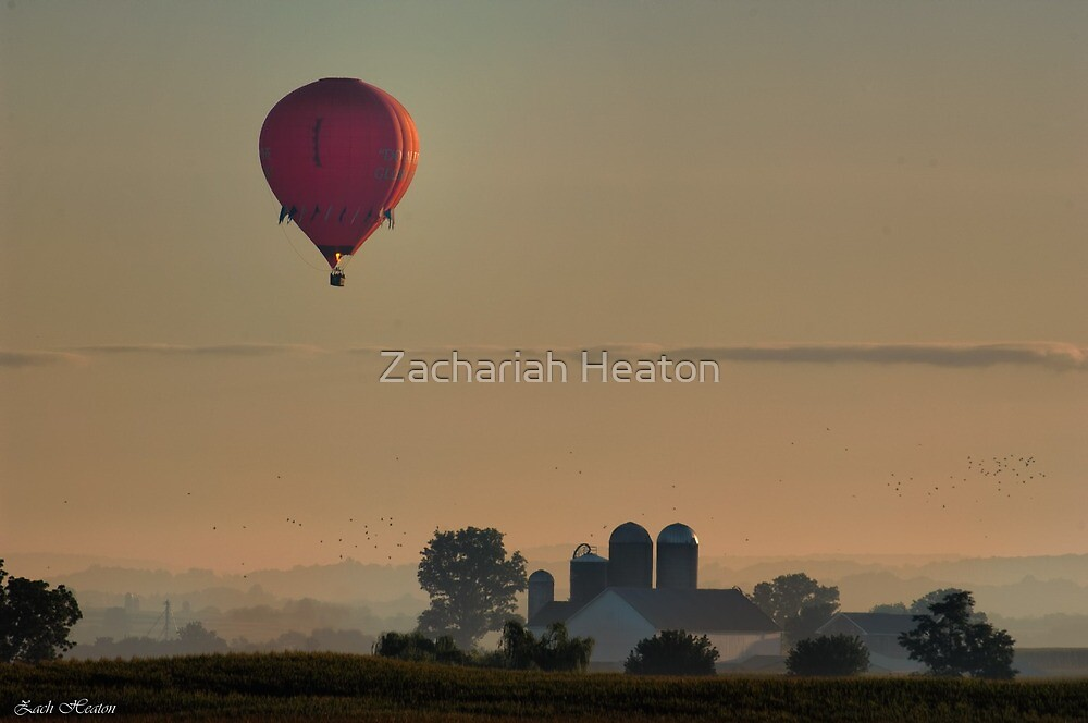 Amish Hotair Balloon  by Zachariah Heaton