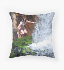 Smalls Falls Leap of Faith #5 Throw Pillow