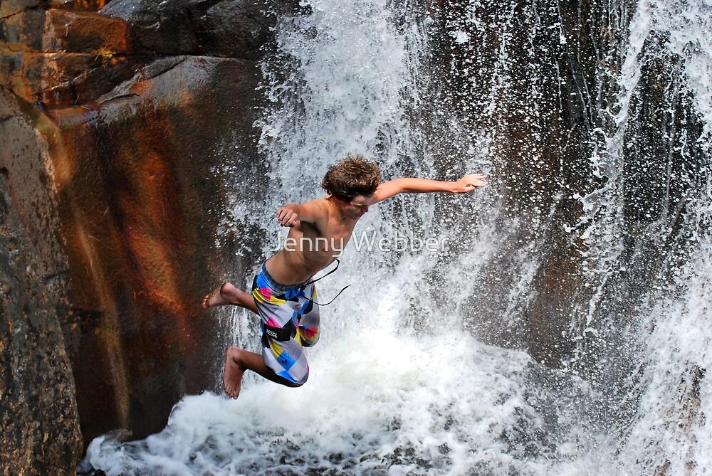 Smalls Falls Leap of Faith #13 by Jenny Webber