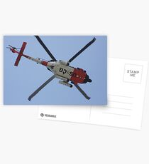 Coast Guard in Action Postcards