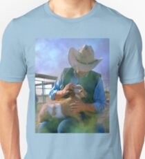 Caring for Goats Unisex T-Shirt