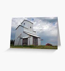 Alberta Grain Elevator Greeting Card