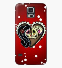 Ashes - Day of the Dead Couple - Sugar Skull Lovers Case/Skin for Samsung Galaxy