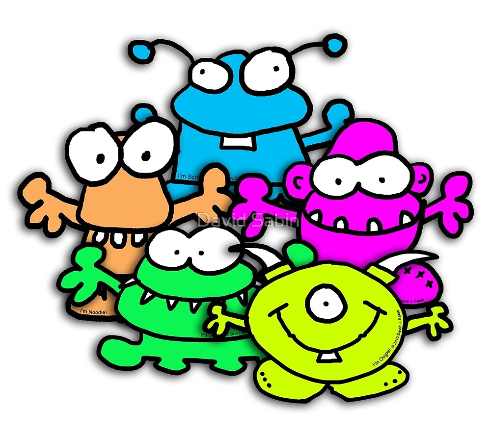 Positive Monsters are Awesome! by David Sabin