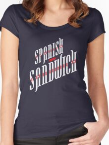 Spanish Sandwich Women's Fitted Scoop T-Shirt