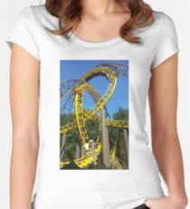 Loch Ness Monster LOOPS Women's Fitted Scoop T-Shirt