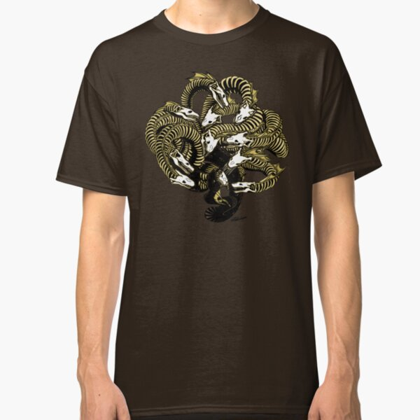 Lonely Hydra - Sepia Classic T-Shirt