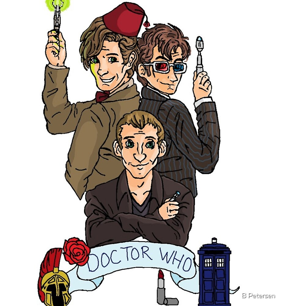 They're the Doctors (with logo) by B Petersen