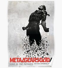 Metal Gear Solid 4 Poster Poster