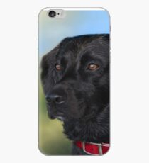 Black Lab - Dog Portrait iPhone Case