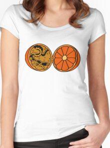 Clockwork Orange (brass) Women's Fitted Scoop T-Shirt