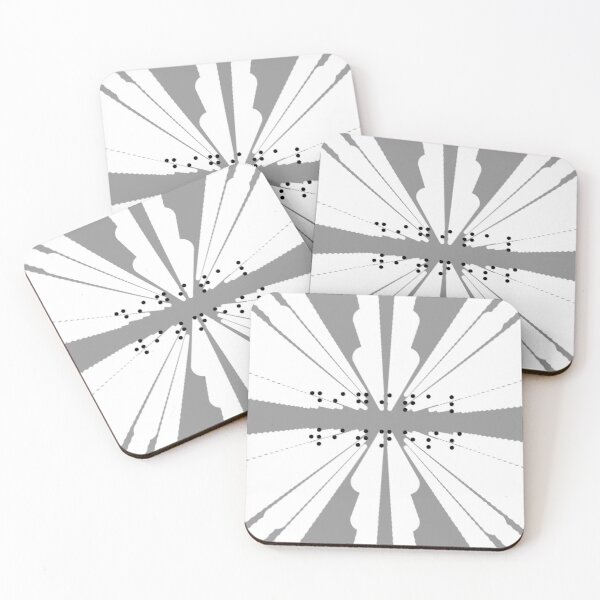 Digital Witness Coasters (Set of 4)