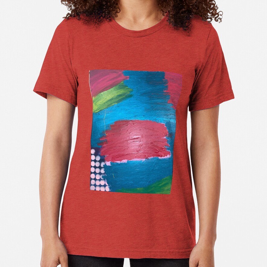 The Journey Between Trauma and Recovery Tri-blend T-Shirt