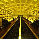 Gold Tunnel in D.C. by thatche2