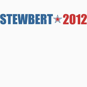Stewbert 2012 Red/Blue A by LTDesignStudio