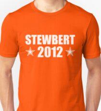 Stewbert 2012 White B Unisex T-Shirt