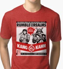 Let's Get Ready to Kombat! Tri-blend T-Shirt