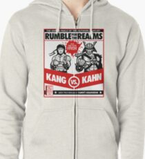 Let's Get Ready to Kombat! Zipped Hoodie
