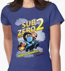 Super SubZero Bros. 2 Women's Fitted T-Shirt