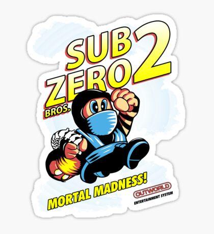 Super SubZero Bros. 2 Sticker