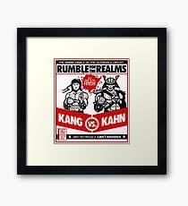 Let's Get Ready to Kombat! Framed Print