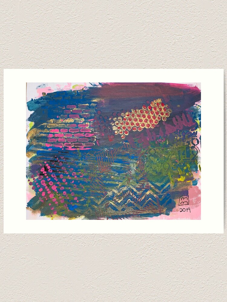 Alternate view of Layer by Layer  Art Print