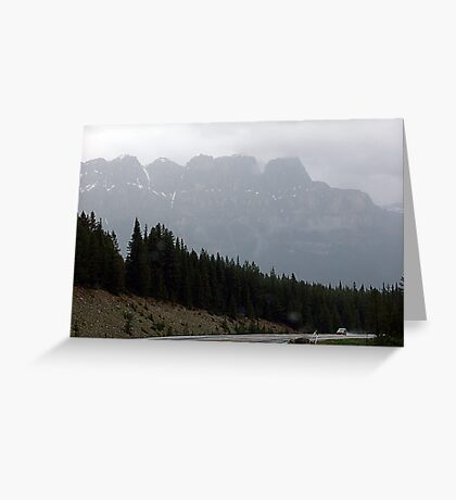 Out Of The Mists of Time Greeting Card