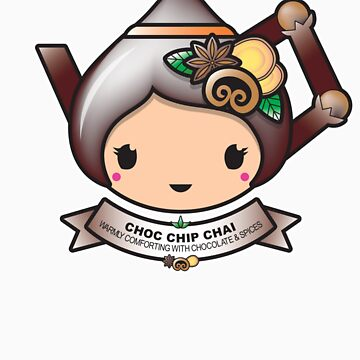 Choc Chip Chai Teapot by BubbleDoll