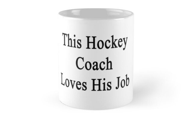 This Hockey Coach Loves His Job  by supernova23