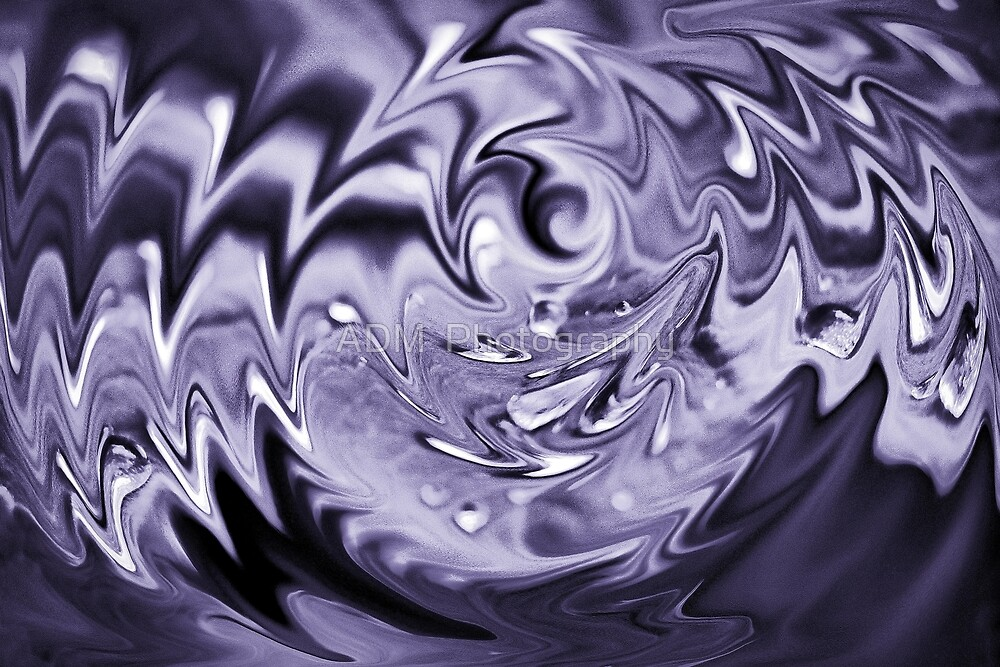 Purple spiral by Amber D Hathaway Photography