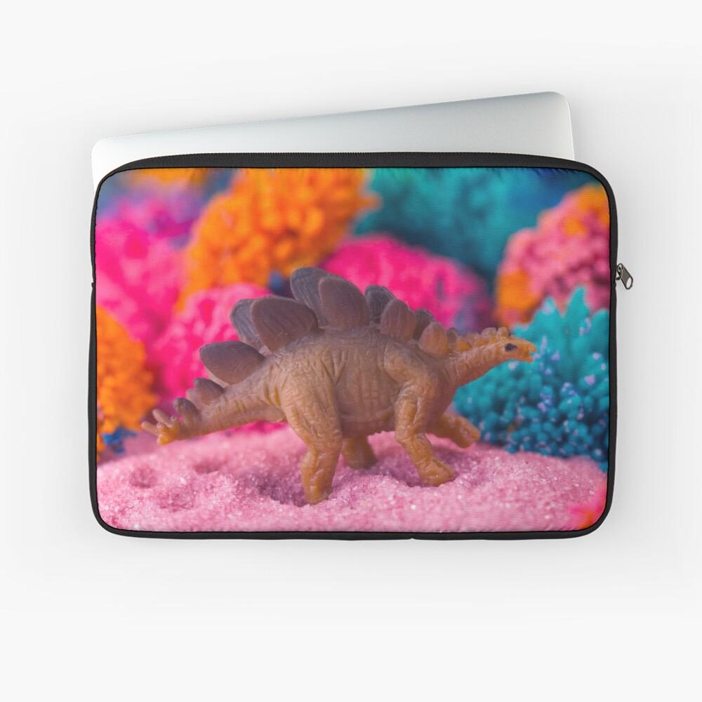 Dino on an Alien Planet Laptop Sleeve
