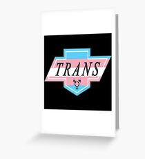 Identity Badge: Transgender Greeting Card