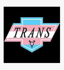 Identity Badge: Transgender Photographic Print