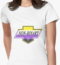 Identity Badge: Non Binary Fitted T-Shirt