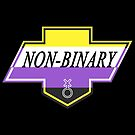 Identity Badge: Non Binary by artemiscreates