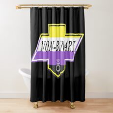 Identity Badge: Non Binary Shower Curtain