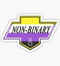 Identity Badge: Non Binary Sticker