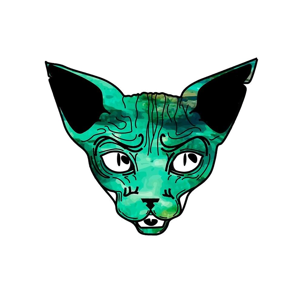 Sphynx I by judithollie